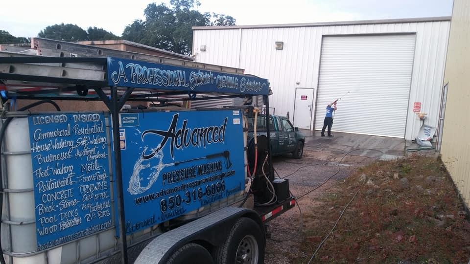 Residential Services Advanced Pressure Washing